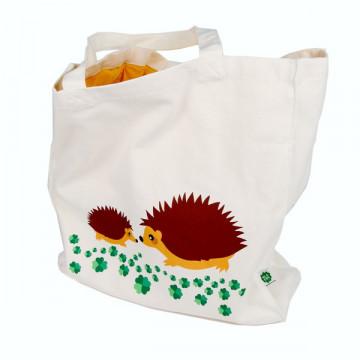 Grand sac tissu HERISSONS