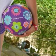 Ballon 18 cm - BLEU MULTI-POIS - CROCODILE CREEK