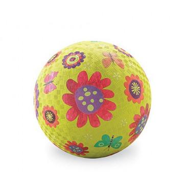 Balle caoutchouc 18 cm FLEUR