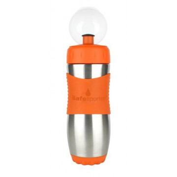 Gourde inox 473ml ORANGE SafeSporter