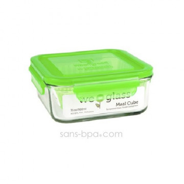 Contenant verre Meal Cube 850ml - Green