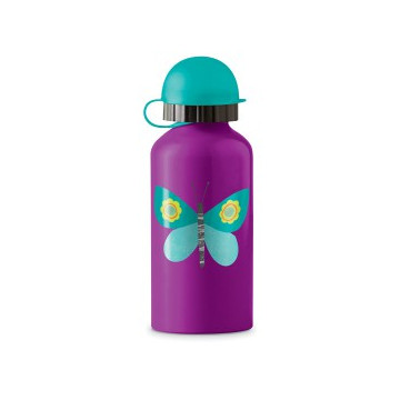 Gourde inox 400ml PAPILLON