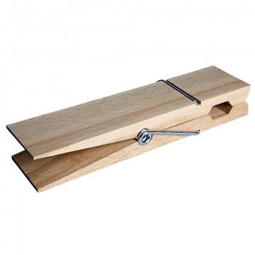 Pince en bois géante