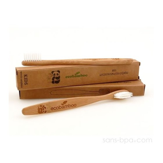 Brosse à dent 100% biodégradable KIDS - Eco Bamboo