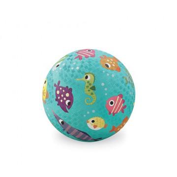 Balle caoutchouc 13 cm PETITS POISSONS