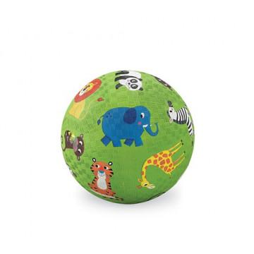Balle caoutchouc 13 cm ANIMAUX RIGOLOS