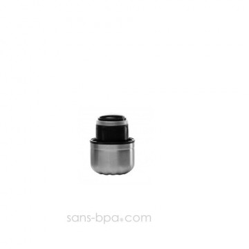Bouchon inox / PE pour bouteille 300ml Qwetch