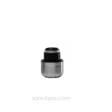 Bouchon inox / PE pour bouteille 750ml - QWETCH