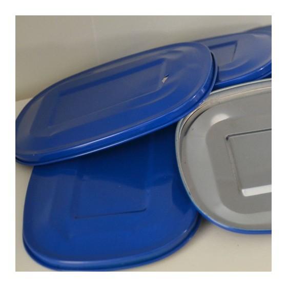 Couvercle inox bleu - CABOSSE 44
