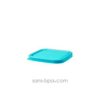 1 boite carrée verre 120ml AZUR