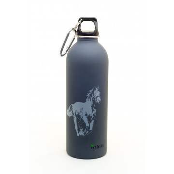 Gourde inox 1 L CHEVAL