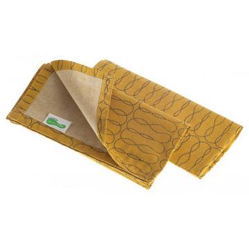 Lot 2 serviettes Set coton recyclé SAFRAN