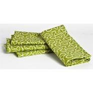Serviette set de table tout vert KIDS KONSERVE
