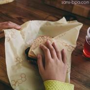 Bee's Wrap Sandwich