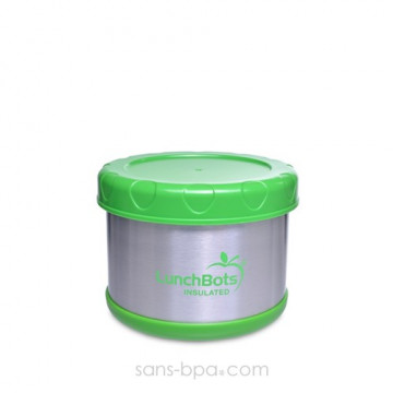 Boite repas isotherme 500 ml LIME
