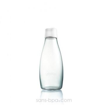 Gourde verre 300 ml - BLANC