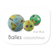 Balles 13 & 18 cm