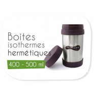 Boites isothermes 400 - 500 ml