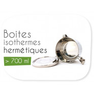Boites isothermes + 700 ml